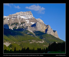 One of the many northeast facing peaks of Mt. Rundle, Banff National Park, Alberta (kgogrady) Tags: morning trees canada landscape rockies spring rocky noone ab nopeople alberta banff fujifilm rockymountains fujinon mountrundle banffnationalpark parkscanada mtrundle canadianrockies 2016 westerncanada canadianmountains xt1 canadiannationalparks canadianlandscapes albertalandscapes xf1855f284ois picturesofalberta photosofalberta photosofbanffnationalpark picturesofbanffnationalpark canadianrockieslanscape fujifilmxt1 picturesofmtrundle photosofmtrundle