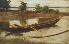 Patricio Gaston O'Farrell: Banca (Leo Cloma) Tags: gallery antique auction philippines leon antiques makati cloma
