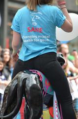 Sane (G Reeves) Tags: show life street city carnival people urban men london outside town rainbow nikon streetphotography pride parade event lgbt metropolis rainbowflag londonpride garyreeves nikond5100