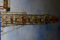 Reflection (Rajesh_India) Tags: reflection hyderabad giantwheel tankbund
