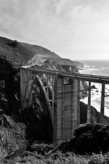 Bixby Creek Bridge (melfoody) Tags: ocean california bridge canon coast bigsur cliffs bixbybridge 60d