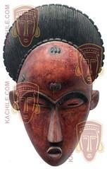 10Y_0898-2 (Kachile) Tags: art mask african tribal ctedivoire primitive ivorycoast gouro baoul nativebaoulmasksaremainlyanthropomorphicmeaningtheydepicthumanfacestypicallytheyarenarrowandfemininelookingincomparisontomasksofotherethnicitiesoftenfeaturenohairatallbaoulfacemasksaremostlyadornedwithvarioustrad