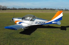 Aerotechnik EV-97A Eurostar G-JEEP (Old Buck Shots) Tags: egsv ks gjeep aerotechnik ev97a eurostar aerotechnikev97aeurostargjeep keith sowter