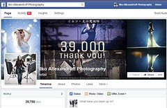 My Facebook Page (Almost 40,000 members) (Ilko Allexandroff / ) Tags: photography page facebook ilko strobist allexandroff