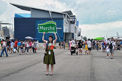 Marche (chooyutshing) Tags: advertising display marche placard foodandbeverages promotor changiexhibitioncentre singaporeairshow2012