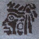 Mayan Head (The Erssie Knits Collection) Tags: chart motif square knitting symbol witch egyptian wicca throw pagan aegishjalmur helmofawe craftegyptianknittingmotifsquarethrowhelmofaweaegishjalmurchartsymbolpaganwiccawitchtiny