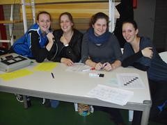2012 De toernooicie; Judith, Cindy, Anne en Carola