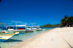 Banana Island (diamonddust13) Tags: travel sea summer beach boat philippines whitesand coron palawan bananaisland