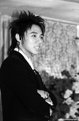 Java Malang - Employee at the wedding (JanvanSchijndel) Tags: world camera city travel wedding light boy portrait bw white man black reflection building face lines set composition contrast work canon pose dark hair indonesia geotagged eos java costume interesting eyes focus asia exposure angle zoom bokeh pov expression details ngc culture style marriage visit location info malang geotag employee 50d