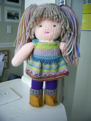 Knitting Patterns For Waldorf Dolls : Ravelry: Knitted Waldorf Doll pattern by Beth Ann Webber