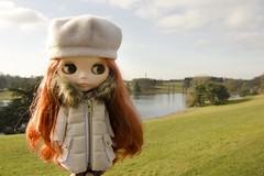 Ruby visits Blenheim
