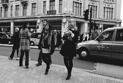 How to walk in the street ? Step by step ! (Pierre Mallien) Tags: street uk england urban bw london girl shopping fun raw candid jungle londres british calling rue mode fille londonist originaliphoto pitvanmeeffe mallien pierremallien