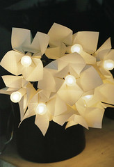 Origami création - Didier Boursin - Luminaire guirlande