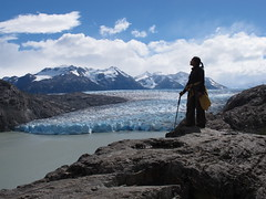 Hiking Torres del Paine national park - Grey glacier - Patagonia - Chile - jerome92