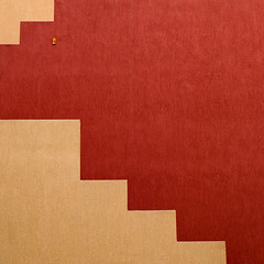 Tetris (Thomas Leth-Olsen) Tags: red architecture beige colours 4 minimal locations urbanabstract garbejaire