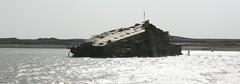 Shipwreck, Khor Al-Zubair, Iraq