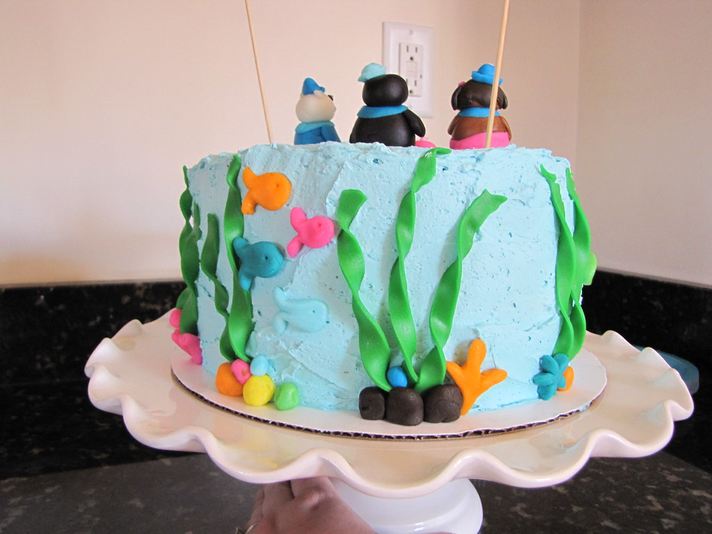 Octopod Birthday Cake
