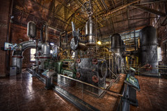 Steampunk Madness (Frank C. Grace (Trig Photography)) Tags: history water boston museum ma industrial massachusetts pipes engine newengland engineering historic steam reservoir pump massive valves waterworks pumphouse hdr gauges beaconstreet steampunk fittings pumping chestnuthill allis drinkingwater pumpingstation worthington tonemapped pentaxart trigphotography frankcgrace