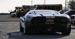 Ford GT (9K Photography) Tags: black heritage ford racetrack muscle low detroit wide performance fast racing special exotic american modified gt custom loud supercar v8 supercharged gt40 fgt fordgt fordmotorcompany detroitmuscle scv8