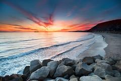 Happy Pi Day! (Extra Medium) Tags: ocean california pink sunset orange mountain pier rocks waves pacific ventura tides nikkor1735f28 singhrayrgnd