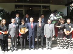 Reunión con Lui Peng, Presidente del Comité Olimpico de China, Embajada de la República Popular China en Chile.