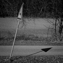 Signs (Joerg Marx) Tags: shadow bw signs sign traffic schild schatten zeichen verkehrszeichen