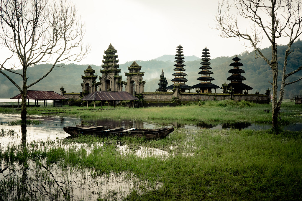 Temple After Rain