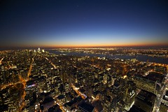 Night View from Empire State Building (cowboy6688) Tags: newyorkcity newyorkskyline empirestatebuilding nightview observationdeck nikond700 newyorkskyscraper nikon1424mm panoramafotogrfico blinkagain