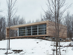 The House That Rob Built (livinginacity) Tags: winter house ontario canada building home architecture modern rural buildings countryside casa timber contemporary country canadian minimal rob clean architect chalet residence architects maison residential  sleek architettura   beavervalley   flesherton   archidose arkitect  arkitekture  arkitecten a snowarchitecture  d