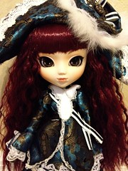 My holy grail arrived today!! (yAzZiE-lAnDiA) Tags: china blue red eye japan japanese doll dolls stock chinese korean pirate pullip pullips veritas pullipdoll obitsu junplanning eyes 27cm