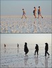 The Difference... (Neeku) Tags: woman lake contrast salt hijab difference gender discrimination sexism prejudice اسلام حجاب چادر تضاد urima زنایرانی تبعیض دریاچهارومیه neekushamekhi نیکوشامخی آذربایچانشرقی مردسالاري