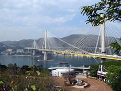 Ting Kau Bridge, Lantau Link Visitor Centre, Tsing Yi, Hong Kong, China (Bencito the Traveller) Tags: china hongkong newterritories tsingyi tingkaubridge lantaulinkvisitorcentre