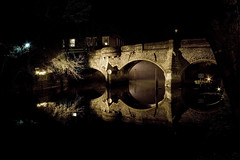 Night Watch (Colonel Blink) Tags: norwich colonelblink riverwensum bishopsbridge copyright2012 |norfolk