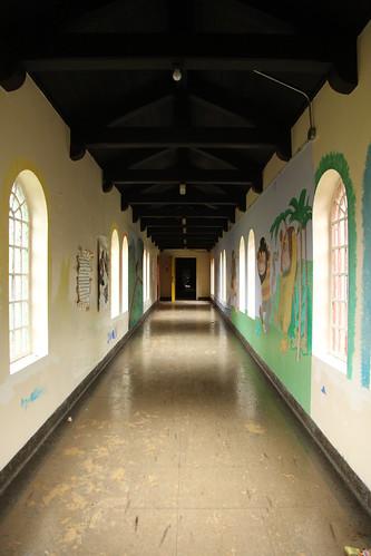 Children's ward connecting corridor