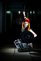 """I'm ready!!"" (.maliszewski) Tags: girl attack ready garota shield viking ataque escudo pronta vikinggirl"