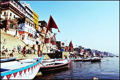 The Heritage stays afloat... (J Kaps) Tags: travel india colors culture holy varanasi kashi ganga benaras