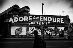 Spitalfields, London. (Nassia Kapa) Tags: old uk urban blackandwhite london photography graffiti mood streetphotography atmosphere citystreets urbanism spitalfields alternative nn eastlondon streetphotographer urbanview nassiakapa