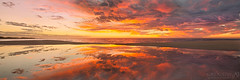 Radiance (Luke Austin) Tags: ocean sunset reflection beach stitch vivid panoramic westernaustralia dunsborough yallingup tiltshift lukeaustin injidup 45mmtse