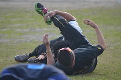 DSC_0047 (mechiko) Tags: 横浜ベイスターズ 120209 新沼慎二 鶴岡一成 横浜denaベイスターズ 2012春季キャンプ