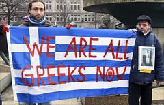 we are all greeks... (andrealinss) Tags: berlin germany protest kundgebung proteste troika manifestation photojournlism internationaldayofaction andrealinss allwearegreeks solidarityforthegreekpeople photojournilst