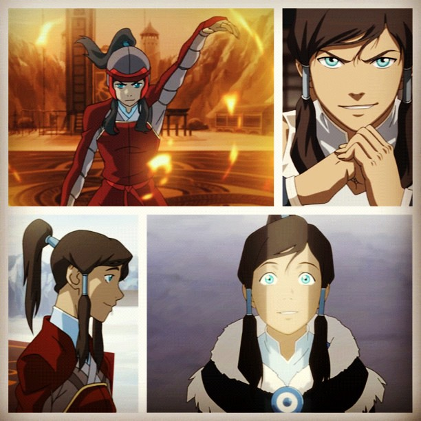 Just watched episodes 1 & 2 of THE LEGEND OF KORRA on iTunes. New obsession.