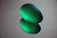 Photo of green egg