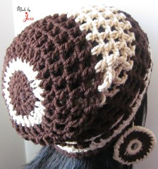 "Crochet Mesh hat • <a style=""font-size:0.8em;"" href=""http://www.flickr.com/photos/66263733@N06/6913986659/"" target=""_blank"">View on Flickr</a>"