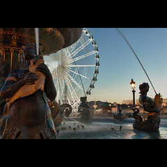 Fontaine de la Concorde (Zed The Dragon) Tags: city bridge light sunset sky paris france building skyline architecture skyscraper photoshop reflections pose french landscape geotagged effects photography photo europe long exposure flickr cityscape minolta photos sony capital exposition egyptian concorde obelisk rivieres alpha luxor fontaine reflets postproduction hdr highdynamicrange sal zed egypte francais lightroom oblisque historique effets storia longue parisien mers photomatix champollion a350 sonyalpha dslra350 alpha350 zedthedragon