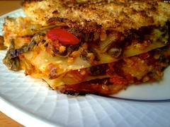 Vegan chard and quinoa lasagna - Lasa