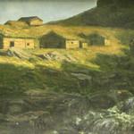 "<b>Landscape</b><br/> Marie Løkke (Mathiesen)(1877-1948) ""Landscape"" Oil, n.d. LFAC #081<a href=""http://farm8.static.flickr.com/7201/6926102071_1449c249a5_o.jpg"" title=""High res"">∝</a>"