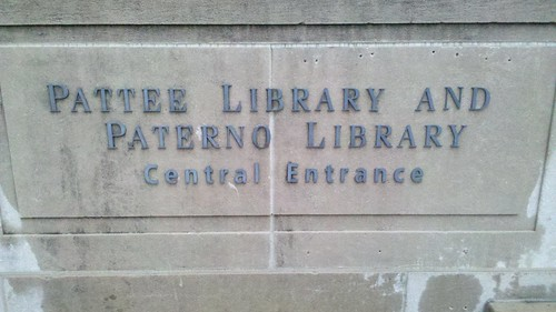 "Pattee Library and Paterno Library • <a style=""font-size:0.8em;"" href=""http://www.flickr.com/photos/54947059@N00/6927344213/"" target=""_blank"">View on Flickr</a>"