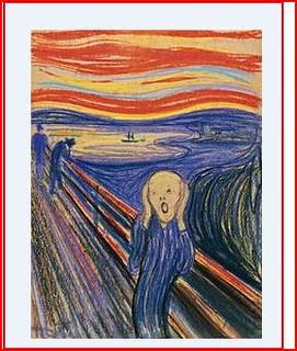 The Scream (1893)  (Norwegian: Skrik), From ImagesAttr