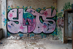 slots tcp nfs (ExcuseMySarcasm) Tags: urban streetart graffiti unitedstates michigan detroit abandonment slots packardplant nfs tcp guerrillaart excusemysarcasm