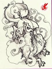 Rabbit Tattoo Art Rabbit Tattoos Tags Art